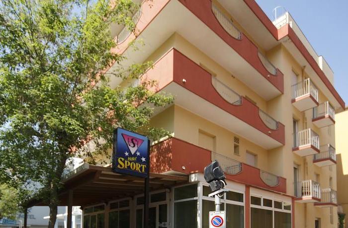 Hotel SPORT miramare Rimini 3 stelle